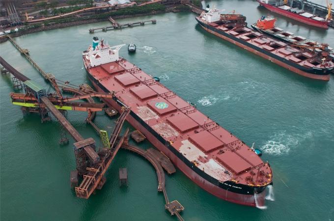 Portos movimentaram 249,2 milhões de t no primeiro trimestre